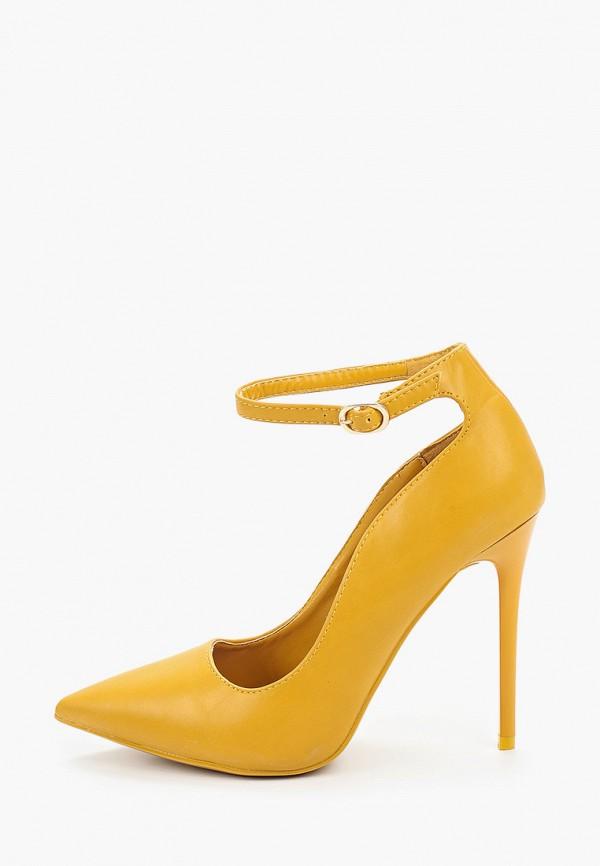 женские туфли mellisa, желтые