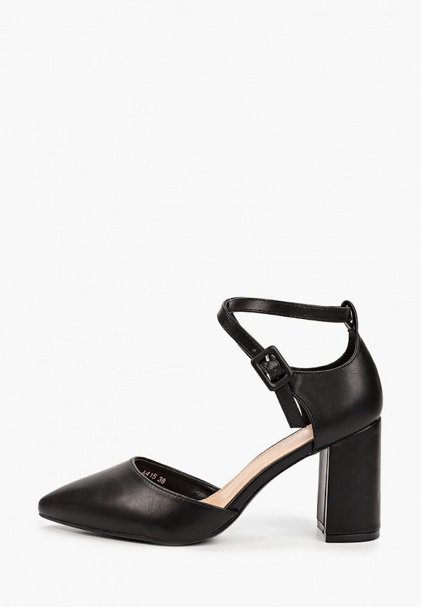 женские туфли mellisa, черные