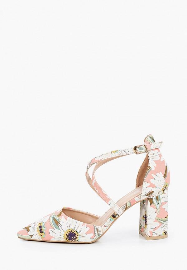 женские туфли mellisa, розовые