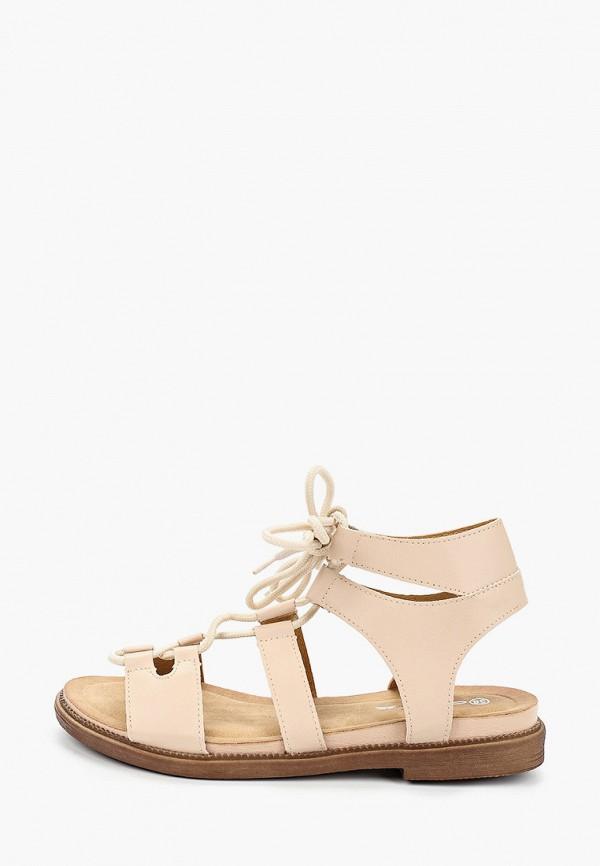женские сандалии mellisa, бежевые
