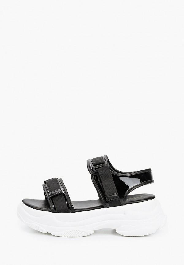 женские сандалии mellisa, черные