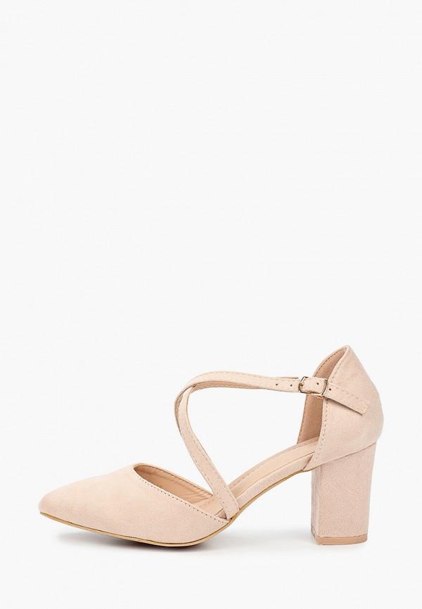 женские туфли mellisa, бежевые