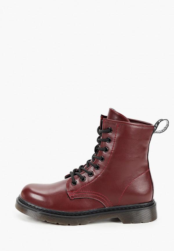 женские ботинки mellisa, бордовые