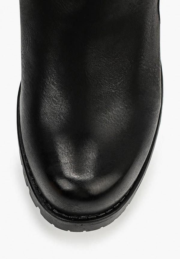 Фото 4 - женские полусапоги Mellisa черного цвета