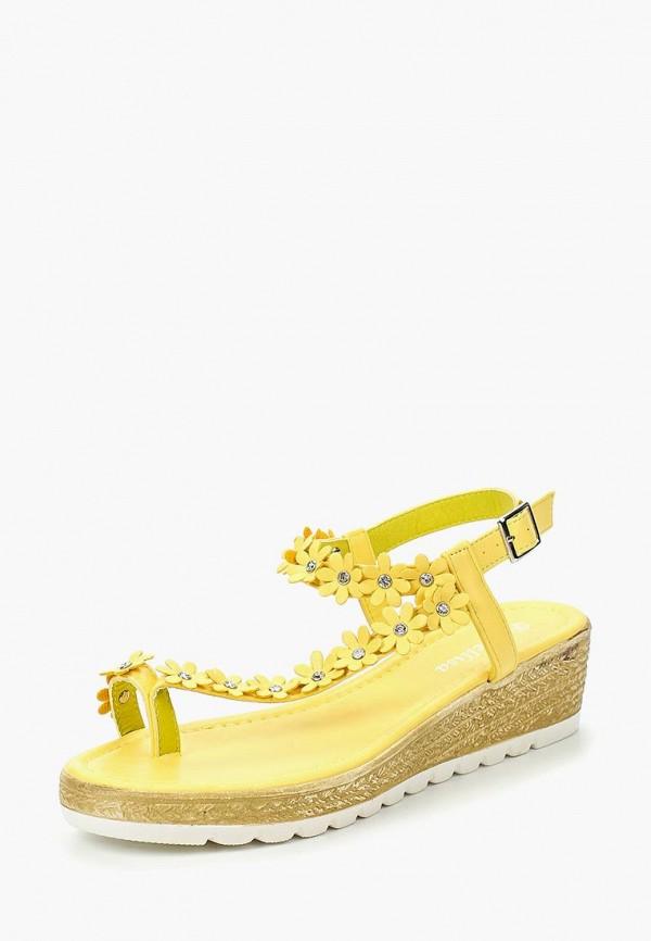 Купить Босоножки Mellisa, me030awtub21, желтый, Весна-лето 2017