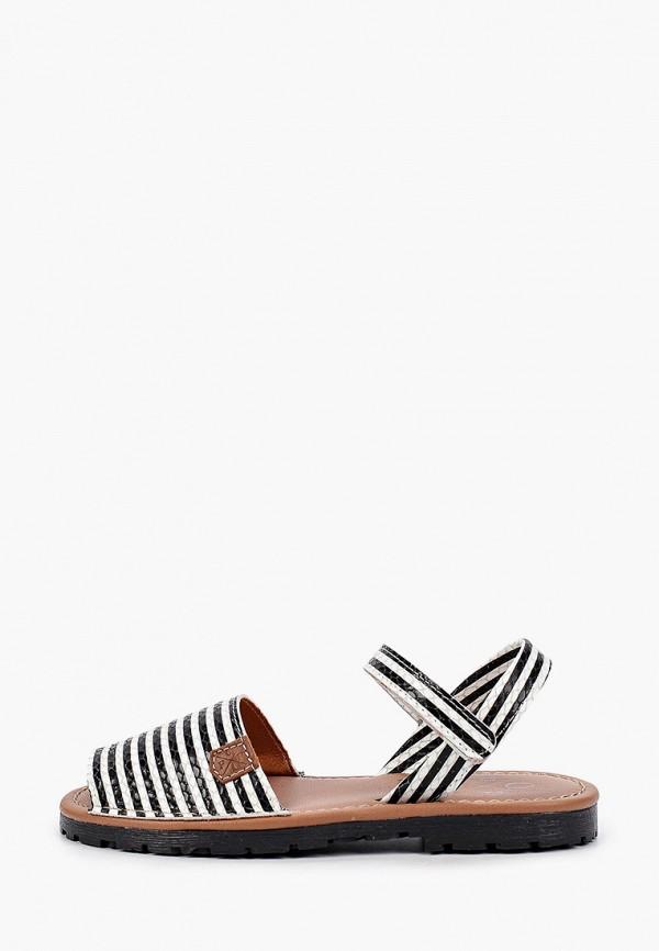 сандалии menorquinas popa для девочки, черные