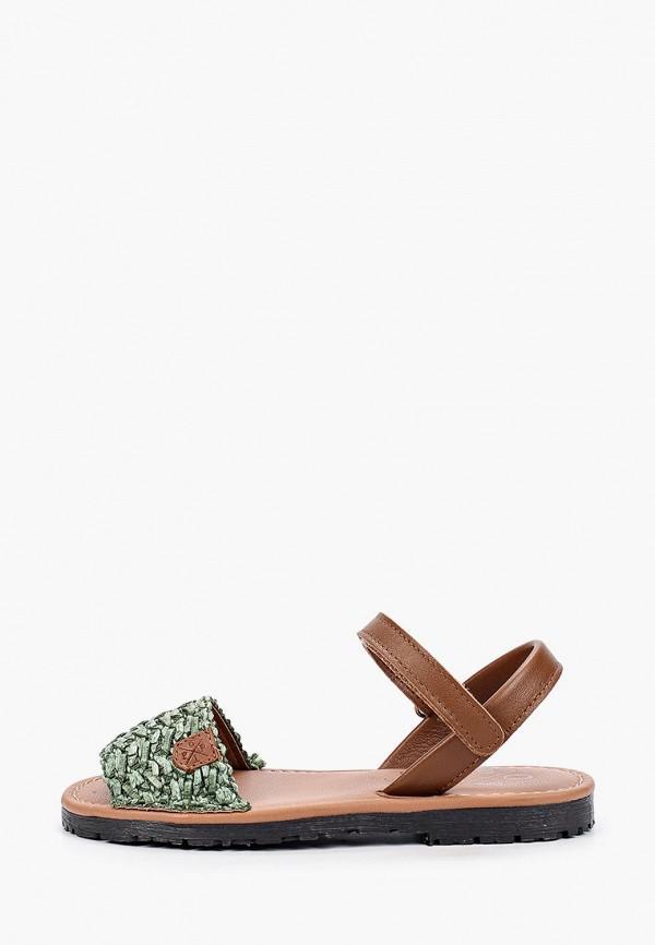 сандалии menorquinas popa для девочки, зеленые