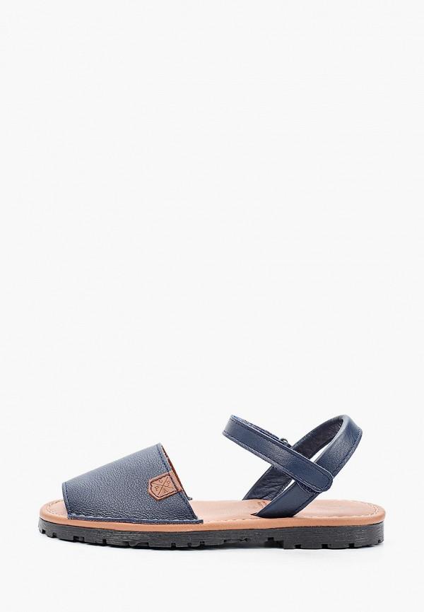 сандалии menorquinas popa для девочки, синие