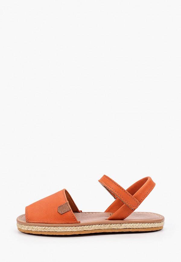 сандалии menorquinas popa для девочки, оранжевые