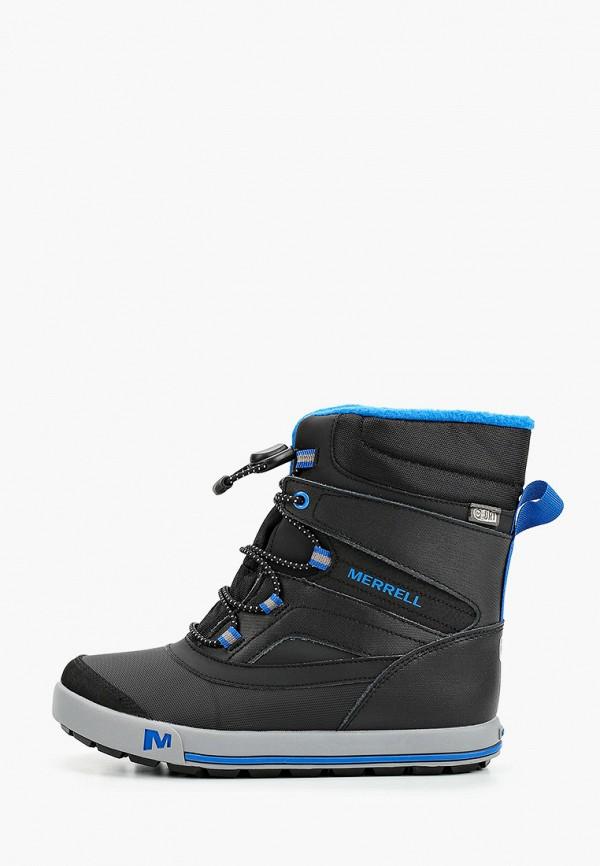 ботинки merrell для мальчика, черные