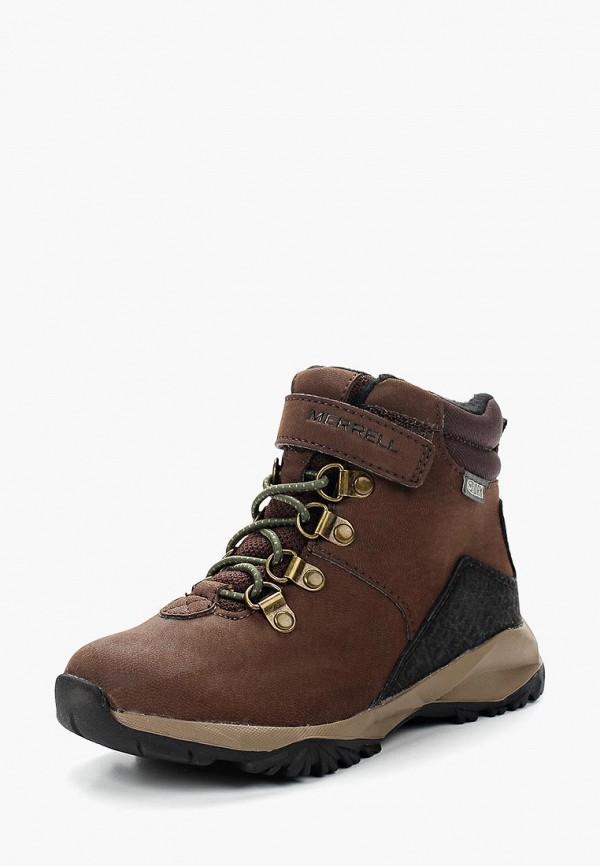 ботинки merrell для мальчика, коричневые