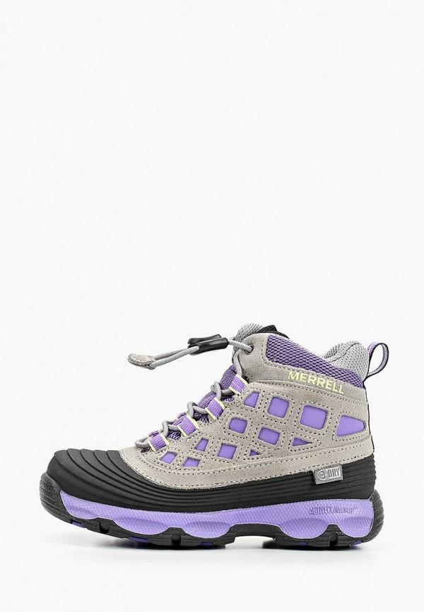 ботинки merrell для девочки, серые