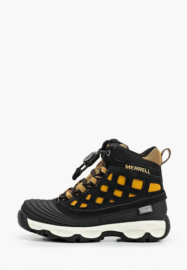 ботинки merrell малыши, черные