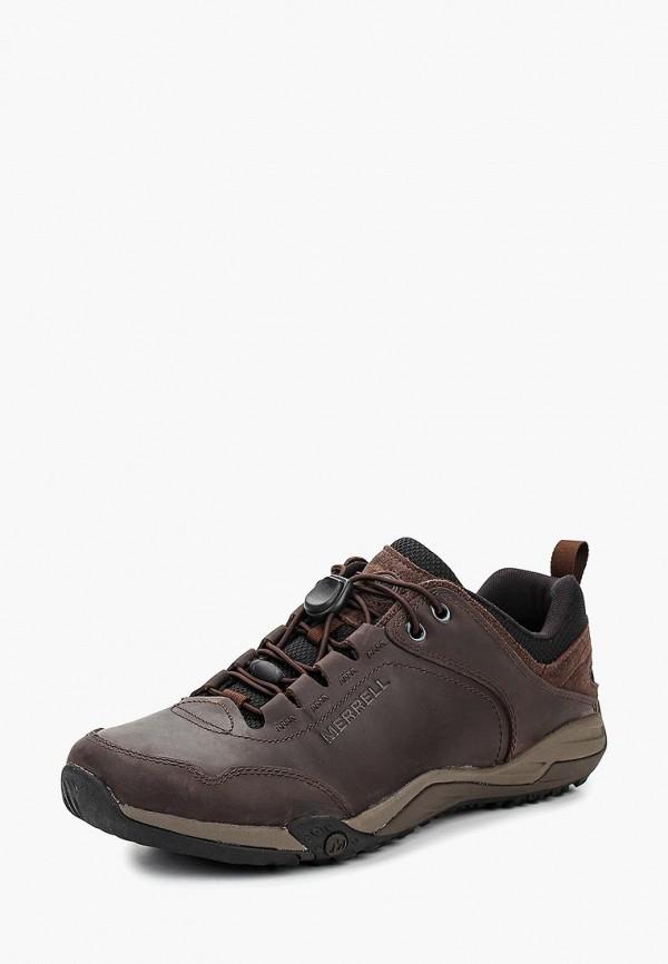 мужские низкие кроссовки merrell, коричневые