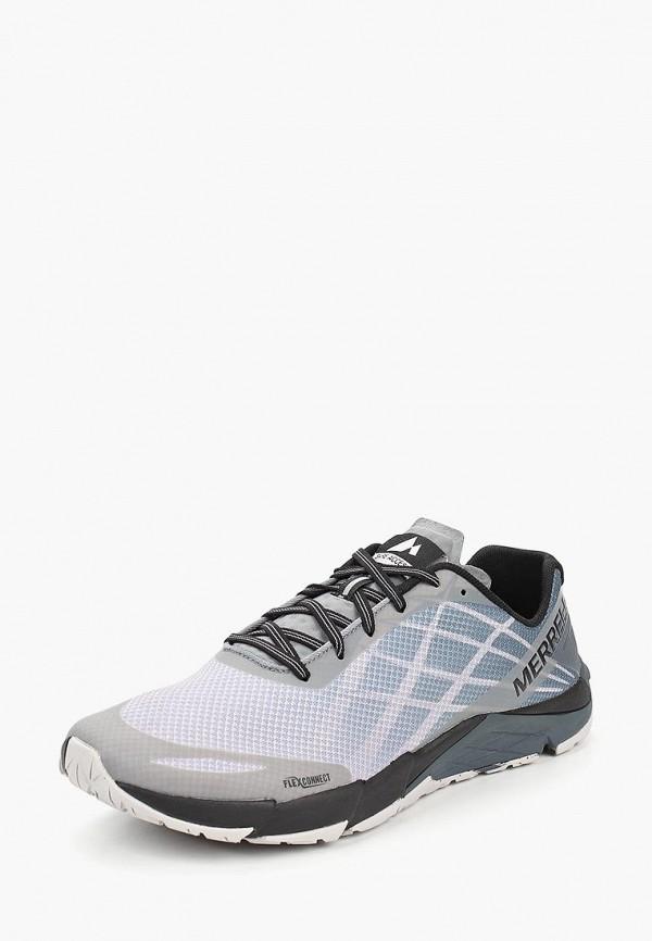 Фото 2 - мужские кроссовки Merrell серого цвета