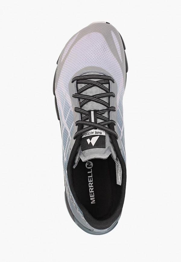 Фото 4 - мужские кроссовки Merrell серого цвета