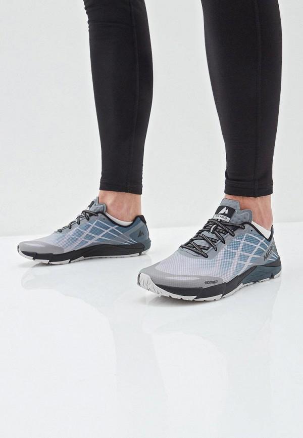 Фото 6 - мужские кроссовки Merrell серого цвета