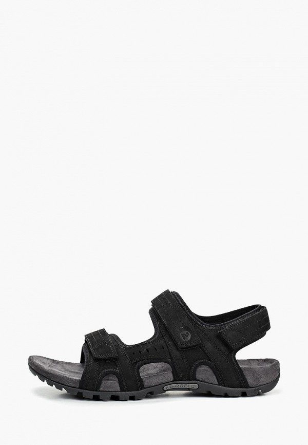 мужские сандалии merrell, черные
