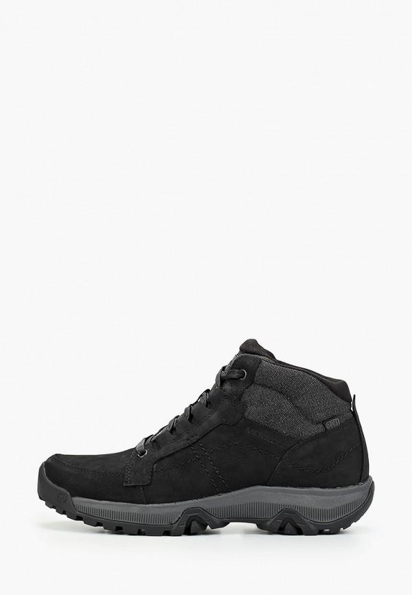 мужские ботинки merrell, черные