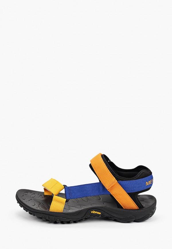 мужские сандалии merrell, разноцветные