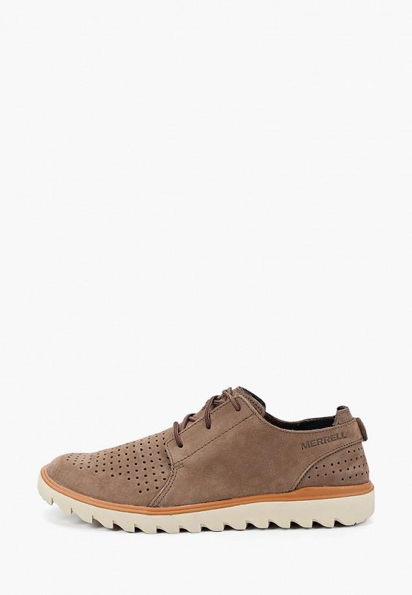 мужские ботинки merrell, коричневые