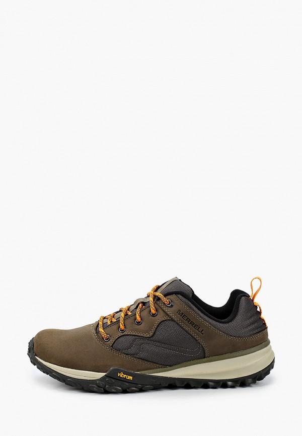 мужские кроссовки merrell, хаки