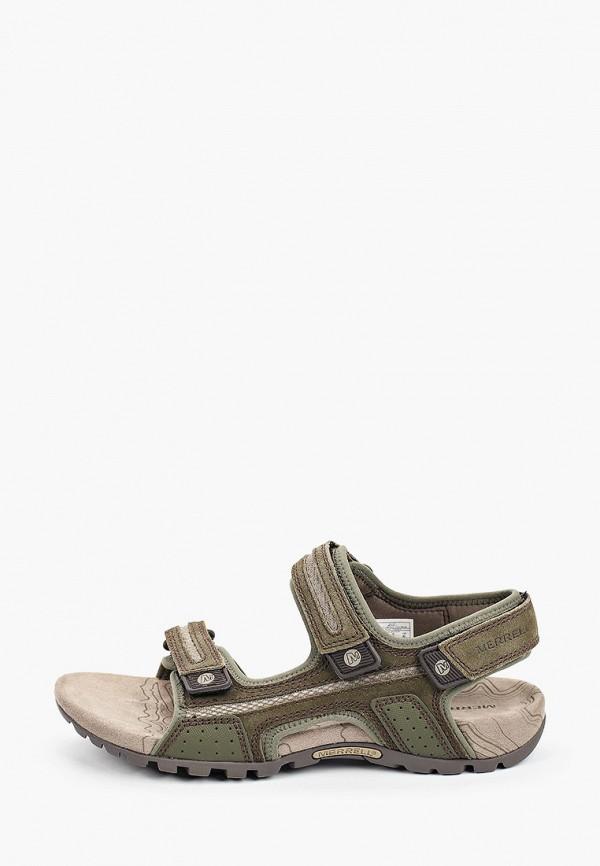 мужские сандалии merrell, хаки