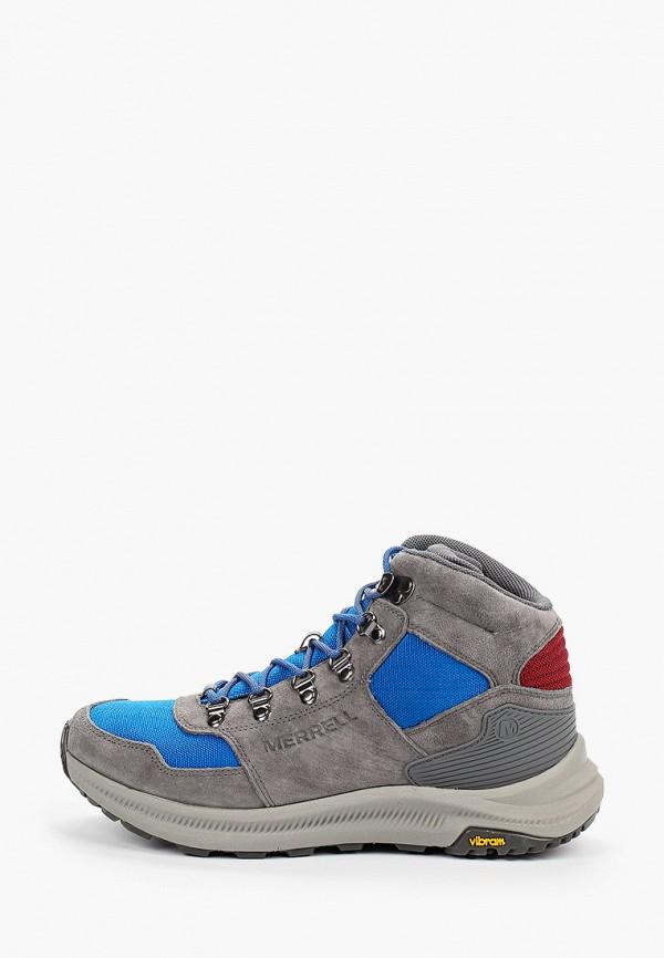 мужские ботинки merrell, серые