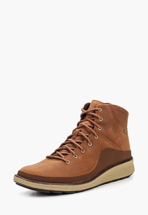 женские ботинки merrell, коричневые