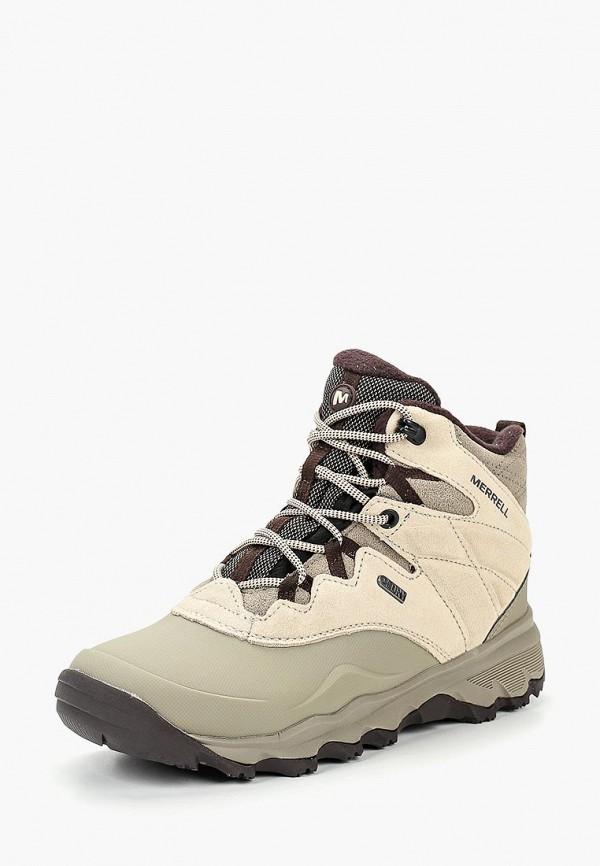 Купить Ботинки трекинговые Merrell, THERMO SHIVER 6 WP, me215awcpso0, бежевый, Осень-зима 2018/2019