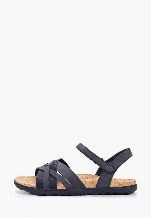женские сандалии merrell, синие