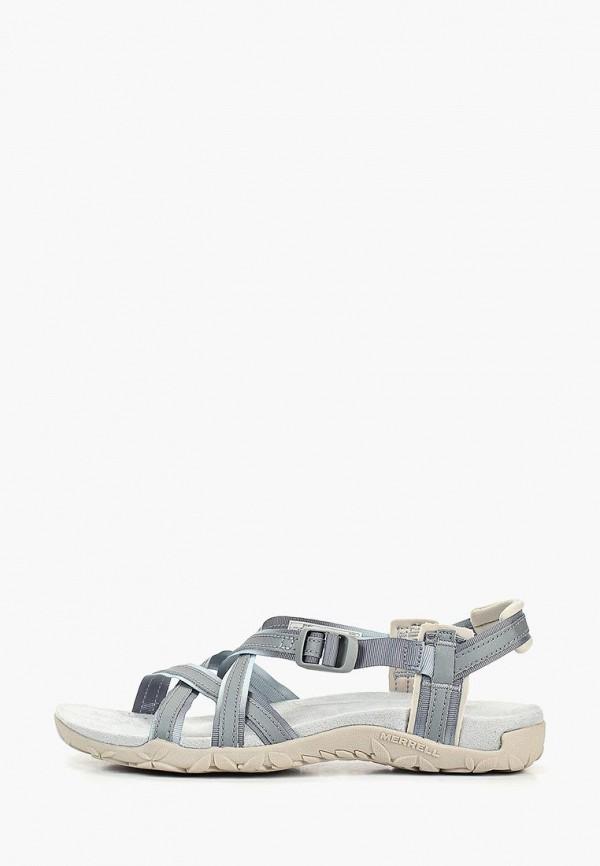 женские сандалии merrell, серые