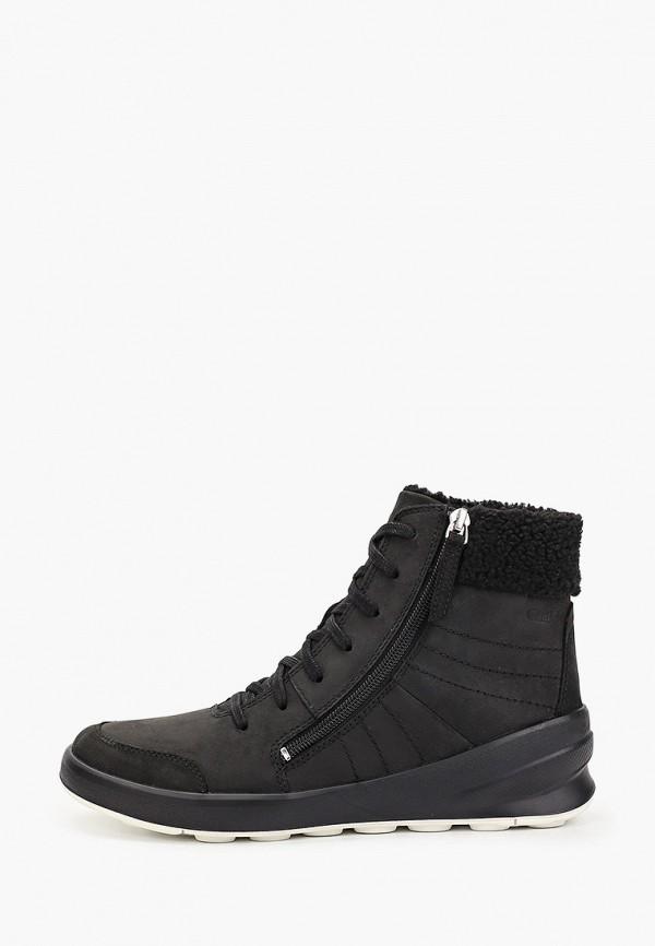 женские ботинки merrell, черные