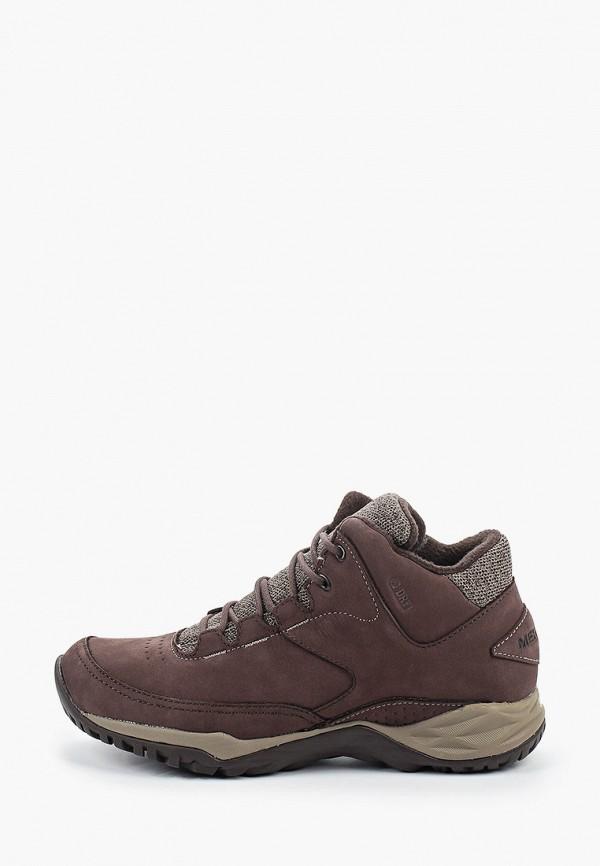 женские высокие ботинки merrell, коричневые
