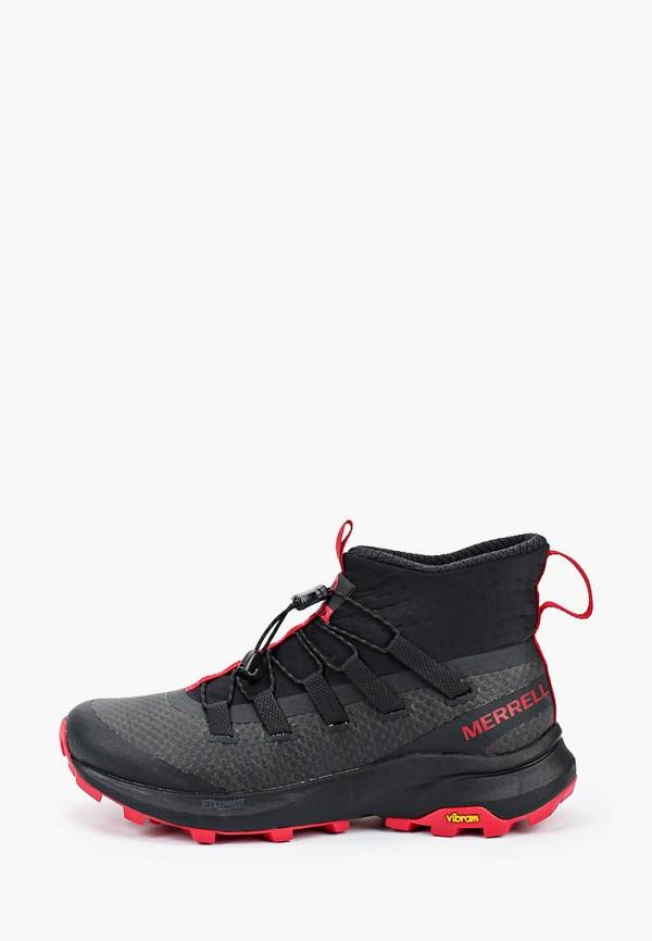 женские кроссовки merrell, черные