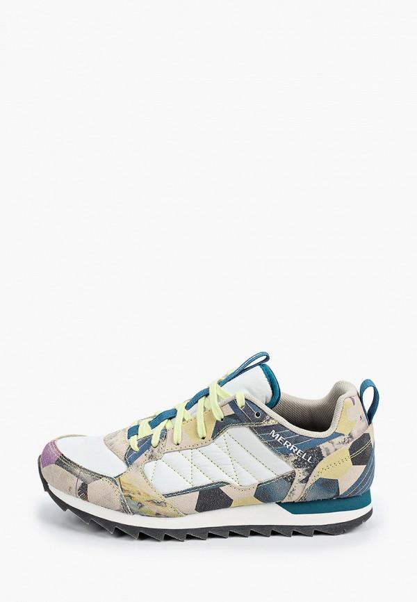 женские низкие кроссовки merrell, разноцветные
