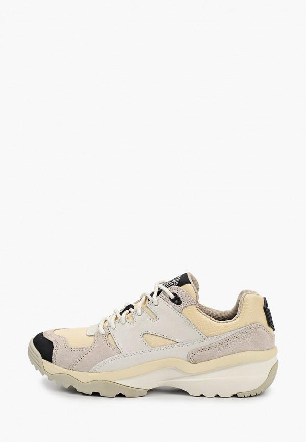 женские низкие кроссовки merrell, бежевые