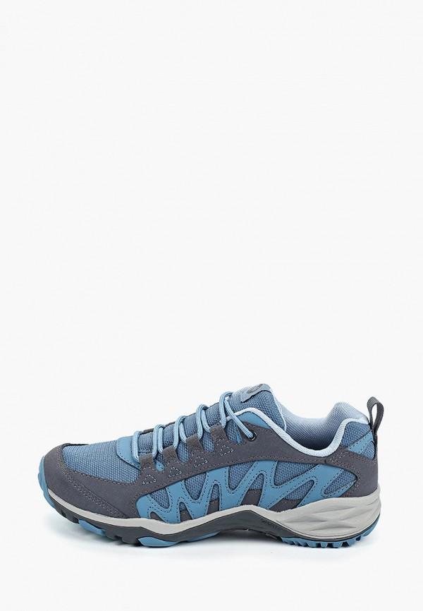 женские ботинки merrell, голубые
