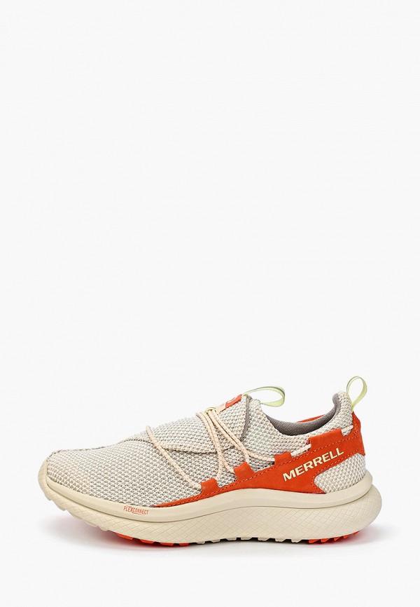 женские кроссовки merrell, бежевые