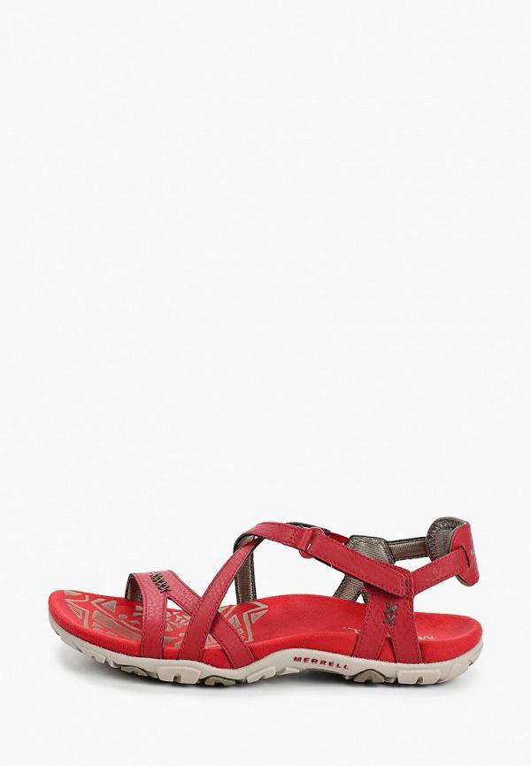 женские сандалии merrell, красные