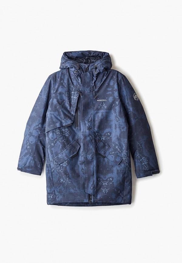 утепленные куртка merrell для мальчика, синяя
