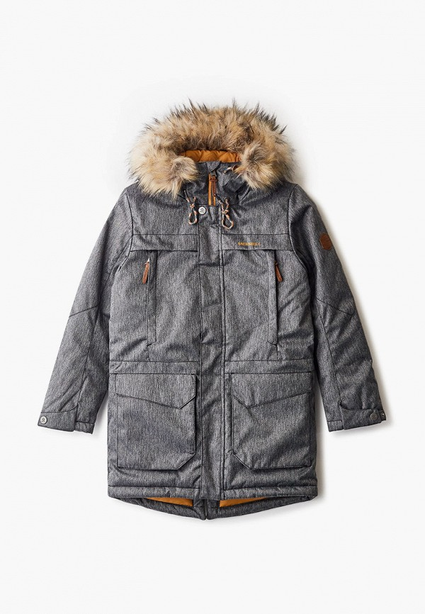 утепленные куртка merrell для мальчика, серая