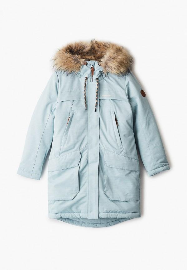 утепленные куртка merrell для девочки, бирюзовая