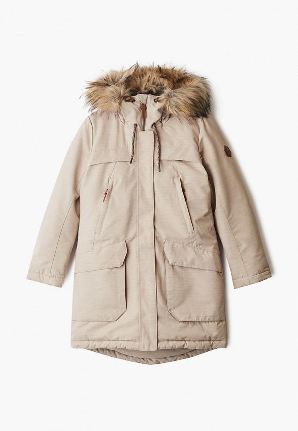 утепленные куртка merrell для девочки, бежевая