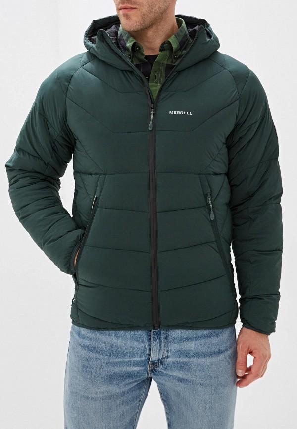 мужская куртка merrell, зеленая