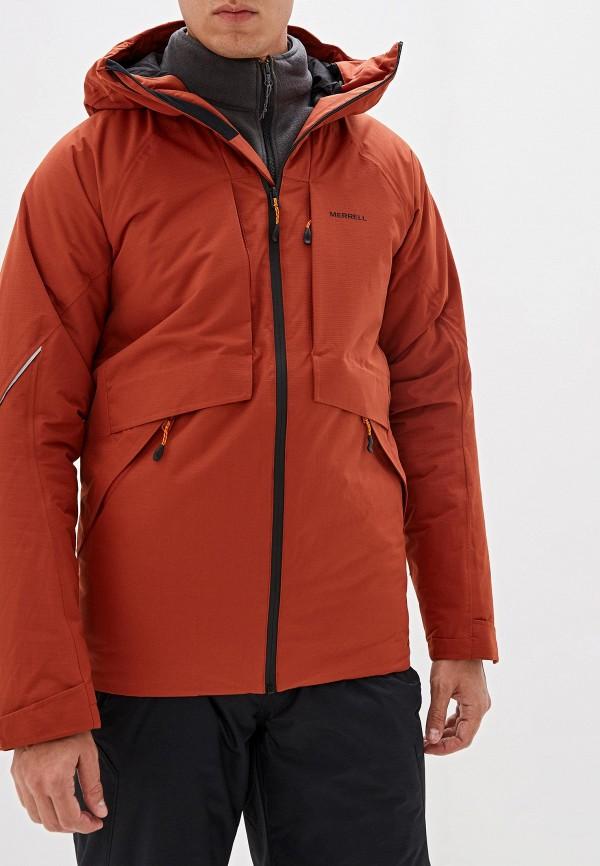 мужская куртка merrell, оранжевая