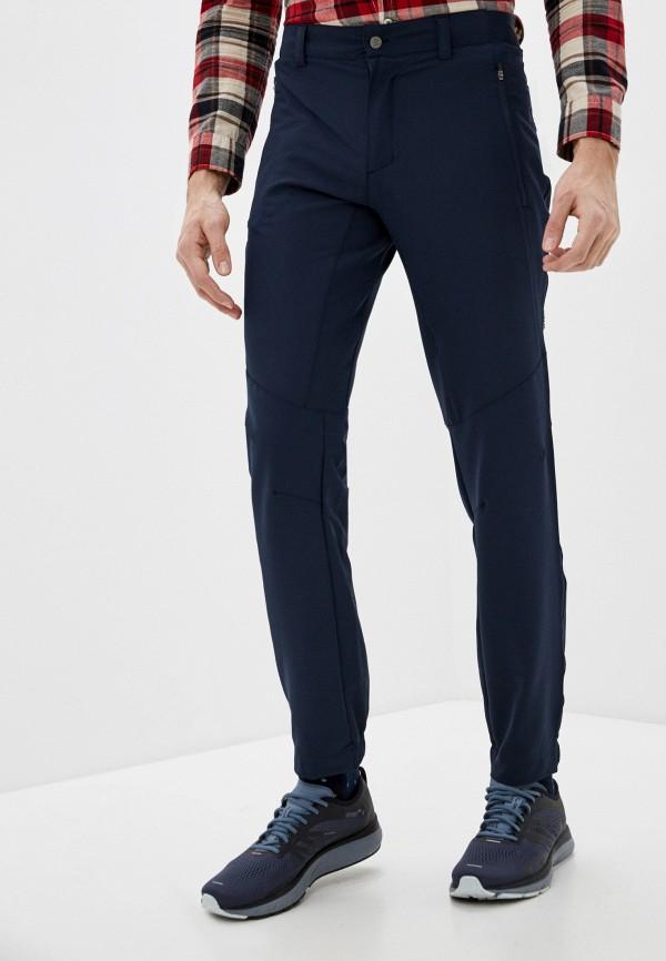 мужские зауженные брюки merrell, синие