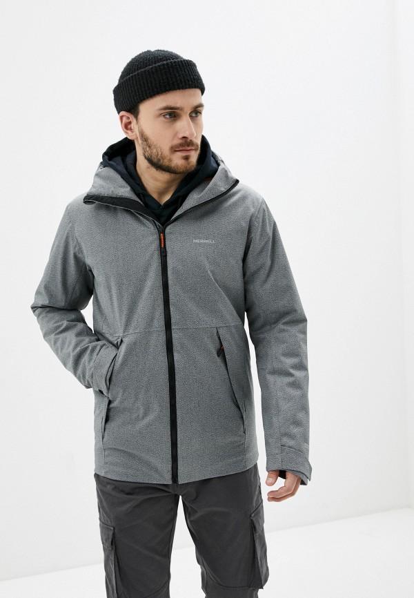 мужская куртка merrell, серая