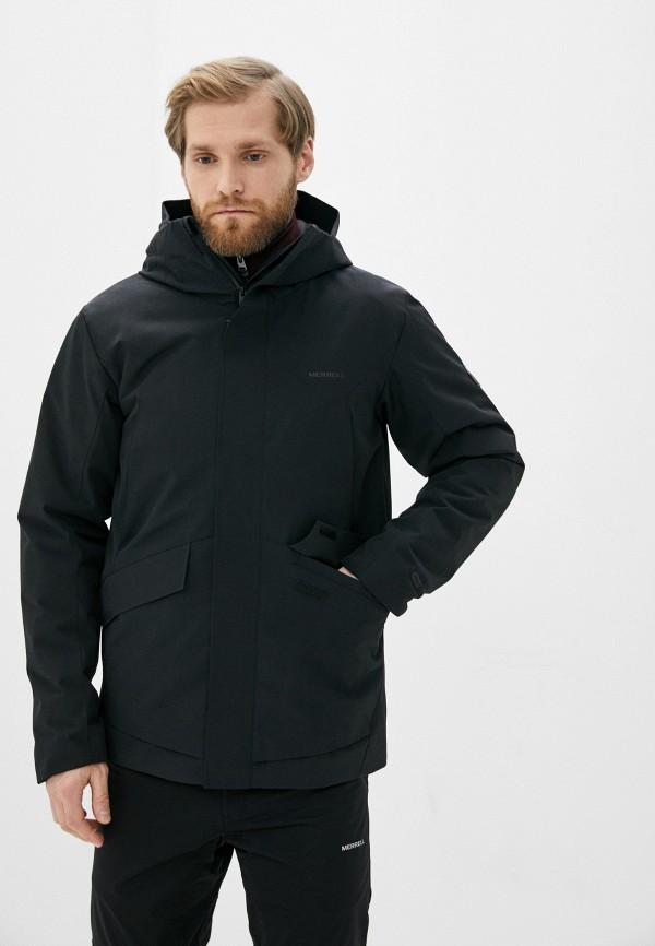 мужская куртка merrell, черная