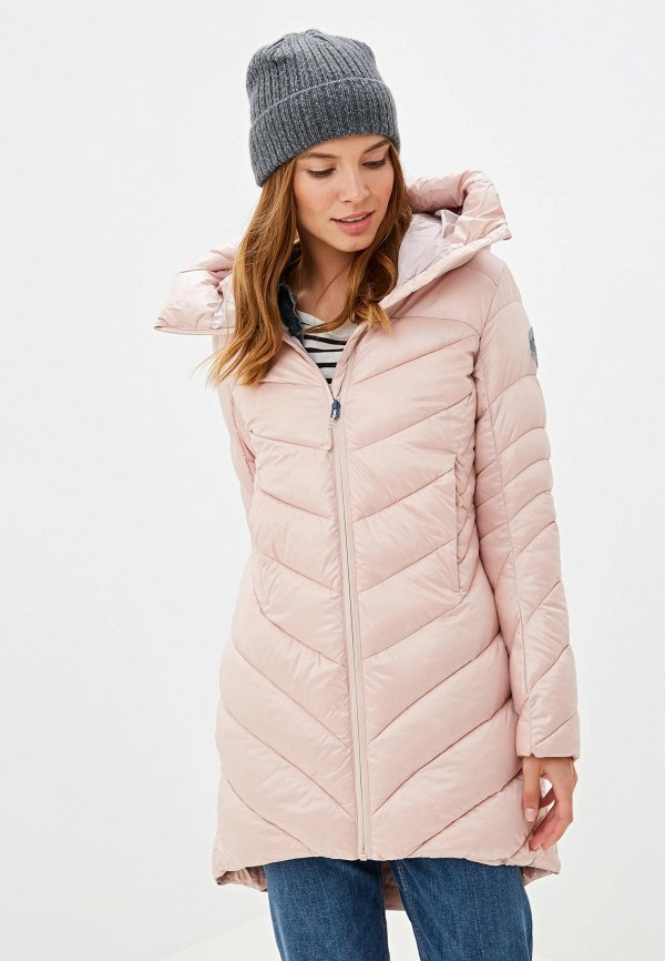 женская куртка merrell, розовая